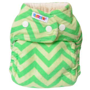 Bummis Flannel Fitted Nappy Product