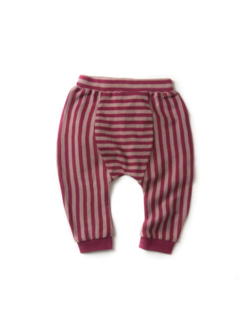 Berry Stripe Jelly Bean Joggers