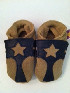 Starchild Stars Around Brown Suede