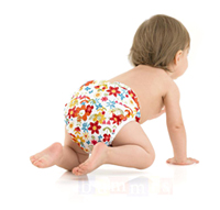 Caring for infants in nappies
